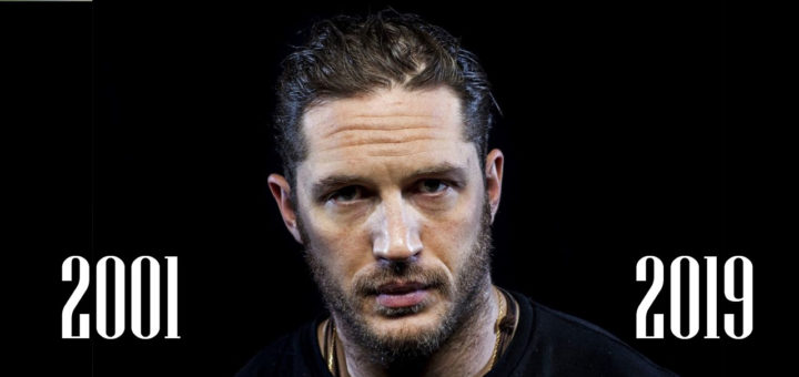 Tom Hardy movie list from 2001 to 2019!